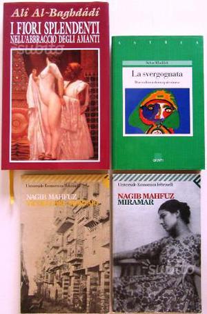 4 libri narrativa autori lingua araba SPED. GRATIS