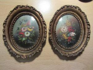 Miniature olio pittore Bary