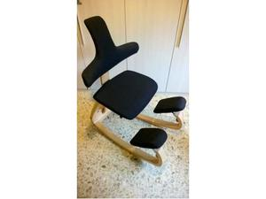 Sedia ergonomica varier con schienale roma posot class - Sedia varier prezzo ...