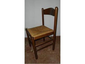 Sedie In Legno Usate : Sedie usate in fiera legno noce seduta posot class