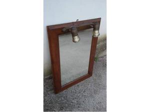 Specchio per bagno con luci posot class for Specchio bagno 70x100