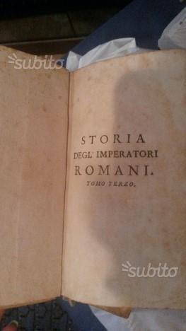 Storia degli Imperatori Romani del Sig.Crevier