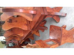 Tavoli, panche sedie in legno massiccio
