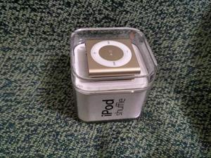 APPLE IPOD SHUFFLE 2GB ORO -4a generazione- Voice Over