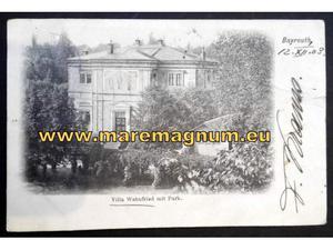 Bayreuth baviera germania cartoline da collezione