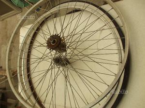 Coppia cerchi bici da passeggio