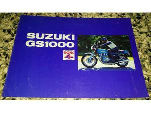 Depliant Suzuki GS