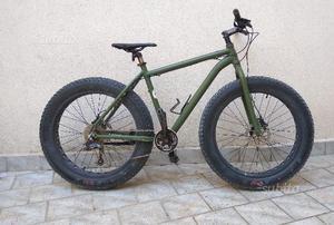 Fat bike verde militare 26