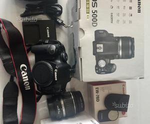 Fotocamera reflex Canon 500d