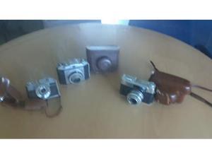 LOTTO di N. 3 fotocamere Vintage: VOIGTLANDER, BENCINI,