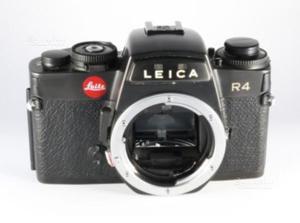 Leica R4 con obiettivi