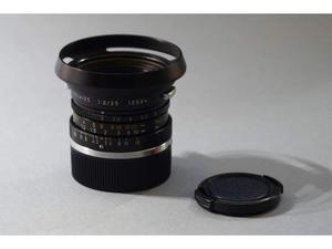 Leitz-Leica M Summicron 35mm f/2 (Canada 6 Lenti)