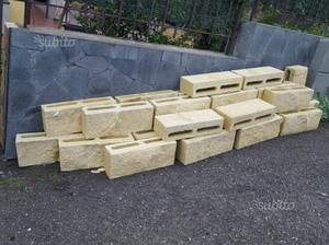 mattoni forati per recinzioni giardino posot class