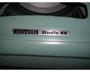 Olivetti studio 44 macchina per scrivere