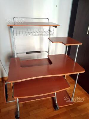 Tavolo per computer e stampante posot class - Tavolo per computer ...