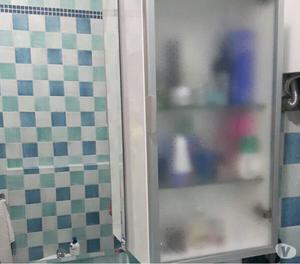 Vendo mobile per bagno in cristallo