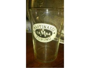 3 bicchieri vintage da bar marca Martinazzi -  Torino.