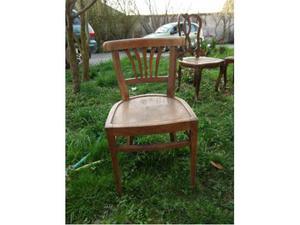 6 sedie in rovere del '900 da restaurare