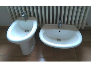 Bidet e lavabo (inclusa rubinetteria)