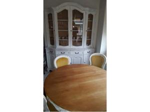 Credenza Con Tavolo Incorporato : Grande tavolo rotondo e mobile credenza con letto art deco