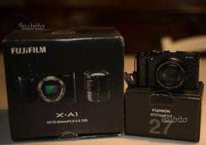 Fuji XA1+ 27mm