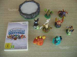 Gioco Wii skylanders con 8 personaggi