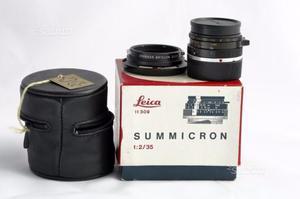 Leica summicron 35 mm f.2 canada
