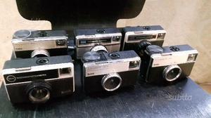Lotto n 6 macchine fotografiche vintage