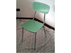 N.4 sedie anni 70