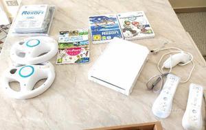 Nintendo Wii più giochi e accessori
