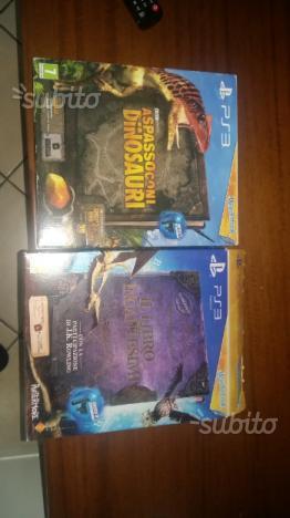 PS3 Libro degli Incantesimi e A Spasso con i Dinos