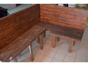 Panca ad angolo in legno truciolare posot class for Panca angolo