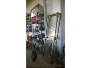 Porta esterna in vetro e alluminio posot class - Porta esterna in alluminio ...
