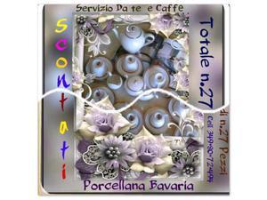 SERVIZIO Very in Porcellana da Tè e Caffè Completo. ? 70
