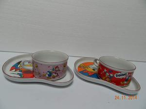 Set 2 tazze colazione Disney