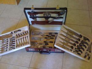 Set di coltelli da cucina con valigetta