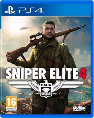 Sniper elite4/dishonored 2/mass effect ps4