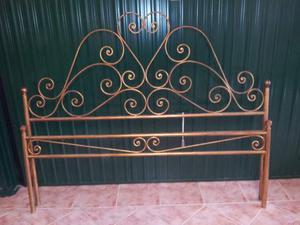Spalliere letto in ferro battuto