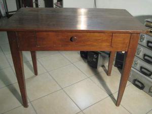 Tavolino scrittoio antico,'800. Misure: 100x58x76h