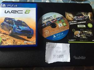 WRC 6 per Sony PS4