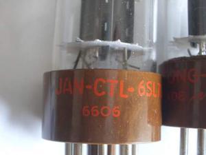 6SL7-WGT VALVOLE tung - sol