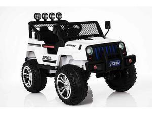 Auto elettrica 12V per bambini Jeep Sport Fuoristrada 4x4