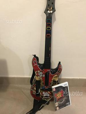 Chitarra Guitar Hero Wii