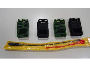 Custodie protettive gomma e antenna per Baofeng UV-5R