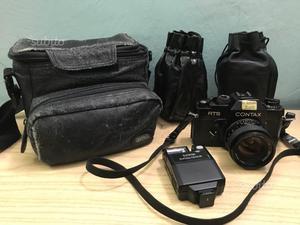 FotocameraContax +3 obbiettivi differenti