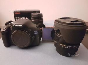 Canon EOS 600d + Canon mm + Sigma mm