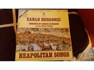 Disco 33 giri Carlo Bergonzi Neapolitan Songs vinile Torino