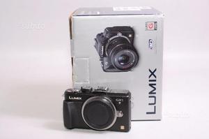 Fotocamera digitale mirrorless panasonic dmc-gx1