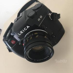 Leica R8 con 50mm summicron