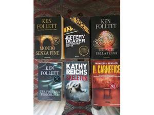 Libri Ken Follett e altri autori thriller in stock